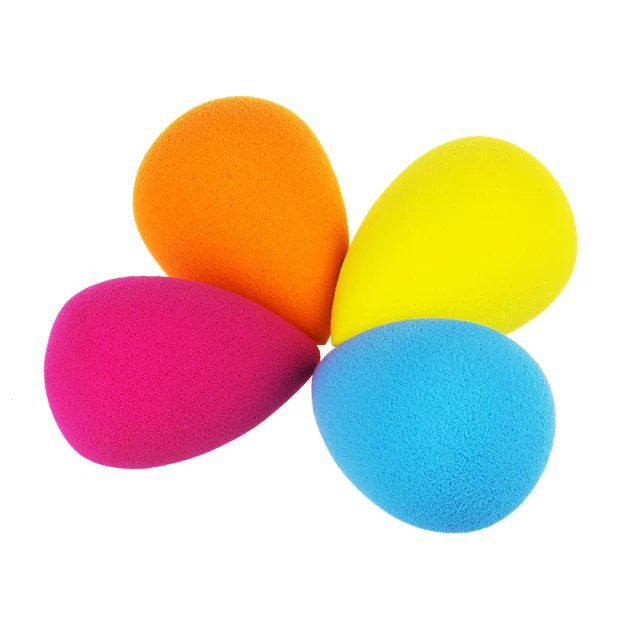 Water Droplets Shaped Makeup Sponge