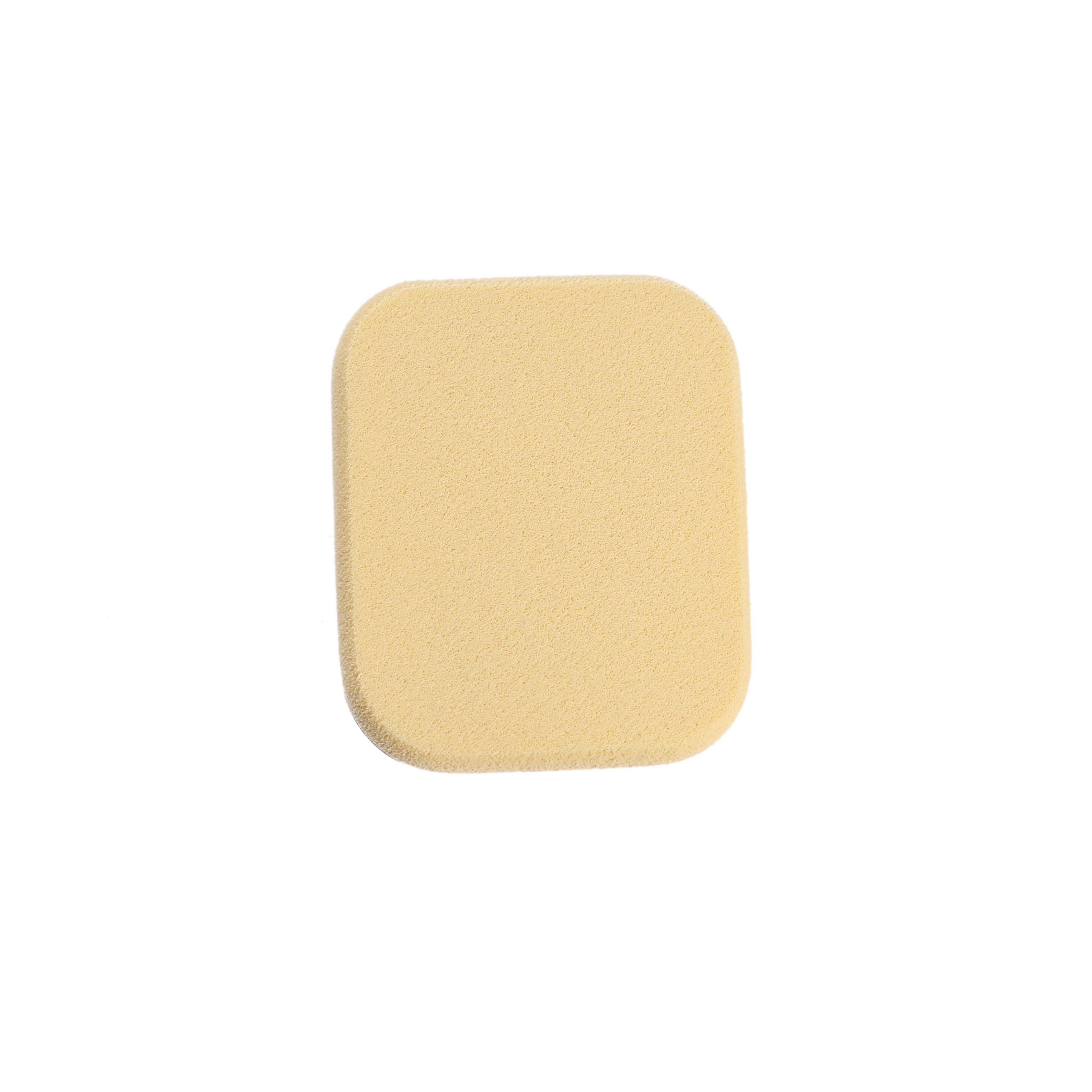 Square With Grinding Edge Shaped Makeup Sponge